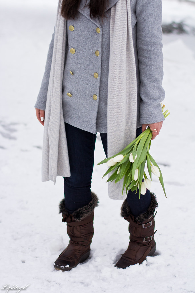 grey peacoat, grey sweater, snow boots, fur hat-8.jpg