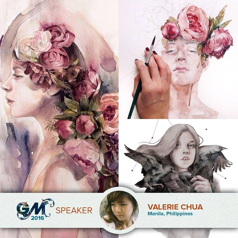 Valerie Chua at Graphika Manila 2016