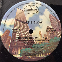 KURTIS BLOW:RAPPIN' BLOW(LABEL SIDE-B)