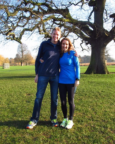 Ian and Caroline Cockram visited from Bedfont Lakes parkrun