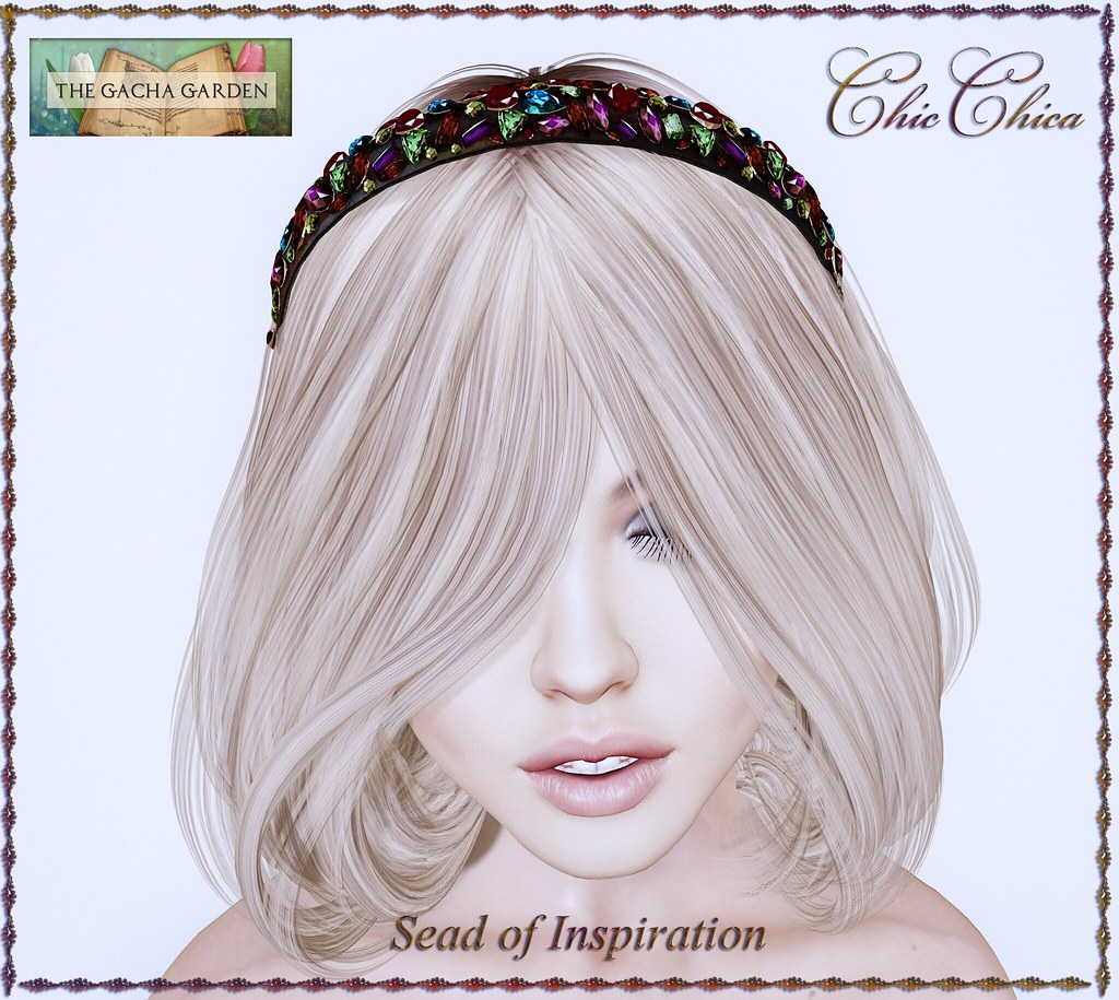 Seed of Inspiration, Headband by ChicChica @ The Gacha Garden