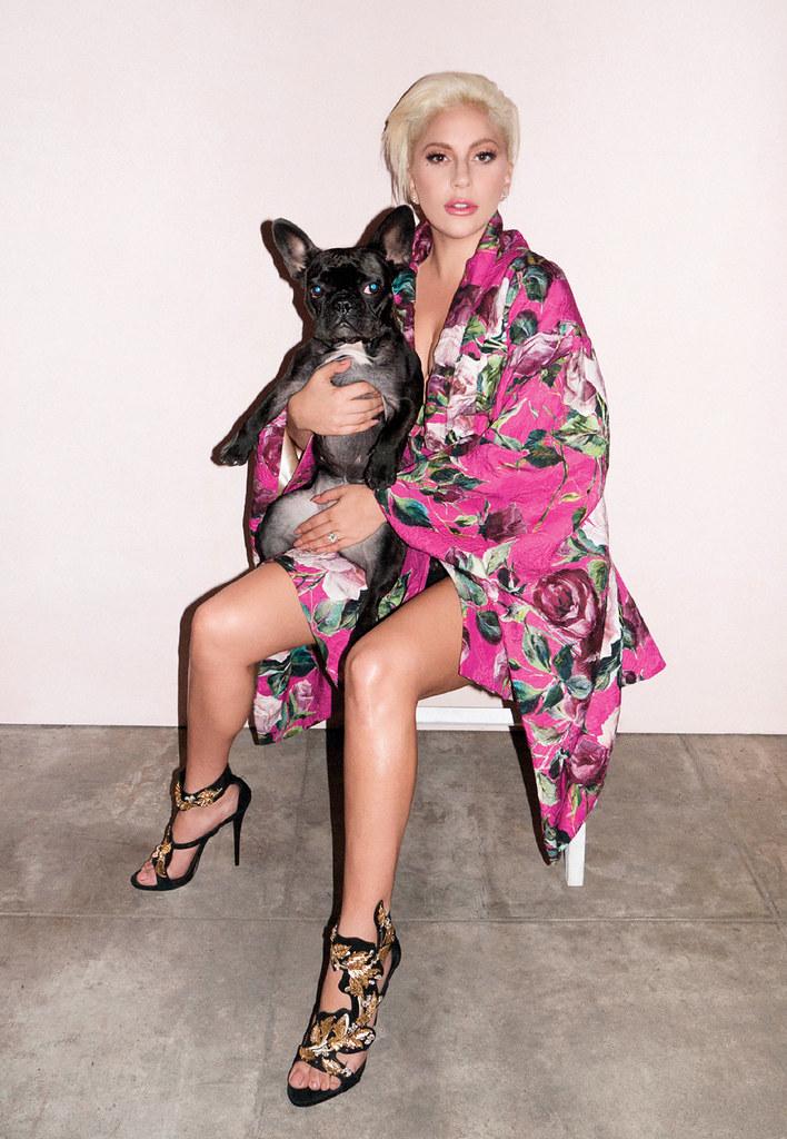 Леди Гага — Фотосессия для «V» TR 2016 – 2