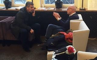 Il sindaco Romagno e il consigliere Altieri tentano un impossibile armistizio a Berlino