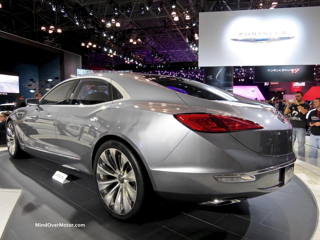 Buick Avenir Rear