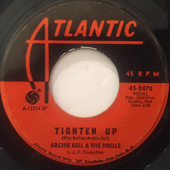 ARCHIE BELL & THE DRELLS:TIGHTEN UP(LABEL SIDE-A)