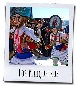 De peliqueiros zijn het absolute middelpunt van de de Carnavalsviering in de regio Galicië