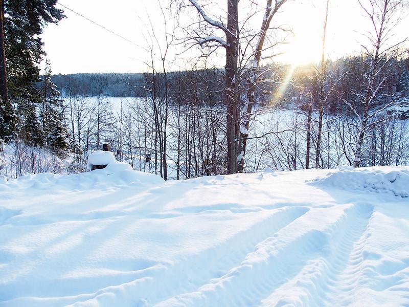 finland winter snow
