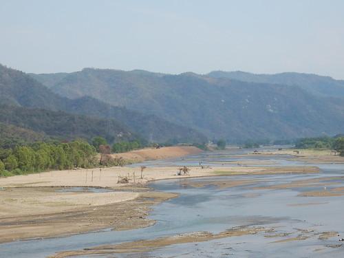 Rivier onderweg naar Colima