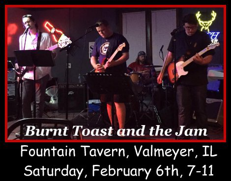 Burnt Toast and the Jam 2-6-16