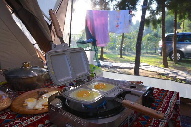 準備早餐ing