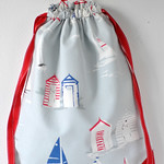 waterproof lined drawstring rucksack sewing tutorial 22