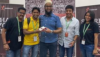 Axelerant Raspberry winner - DrupalCon Asia 2016