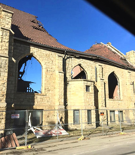 Demolition of St. Agatha's Church