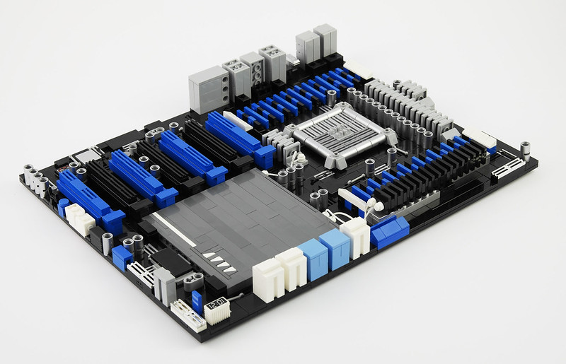 LEGO Motherboard - ASUS P9X79-E WS