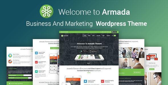ARMADA v4.0.5 - Business And Marketing WordPress Theme