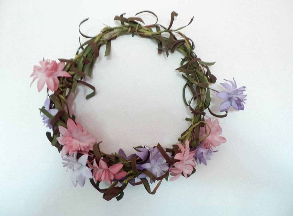 Flores cabelo