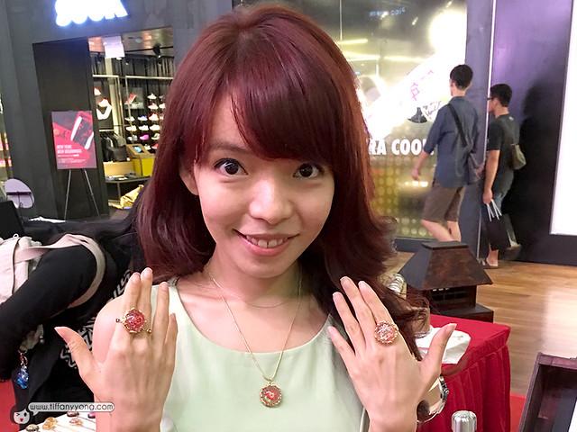 Tiffany Yong Rose Gold Hair