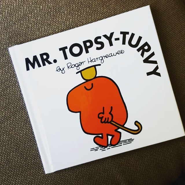 He pronounces it Mr. Topa-v-v and I just can't handle it. #toddlerspeak