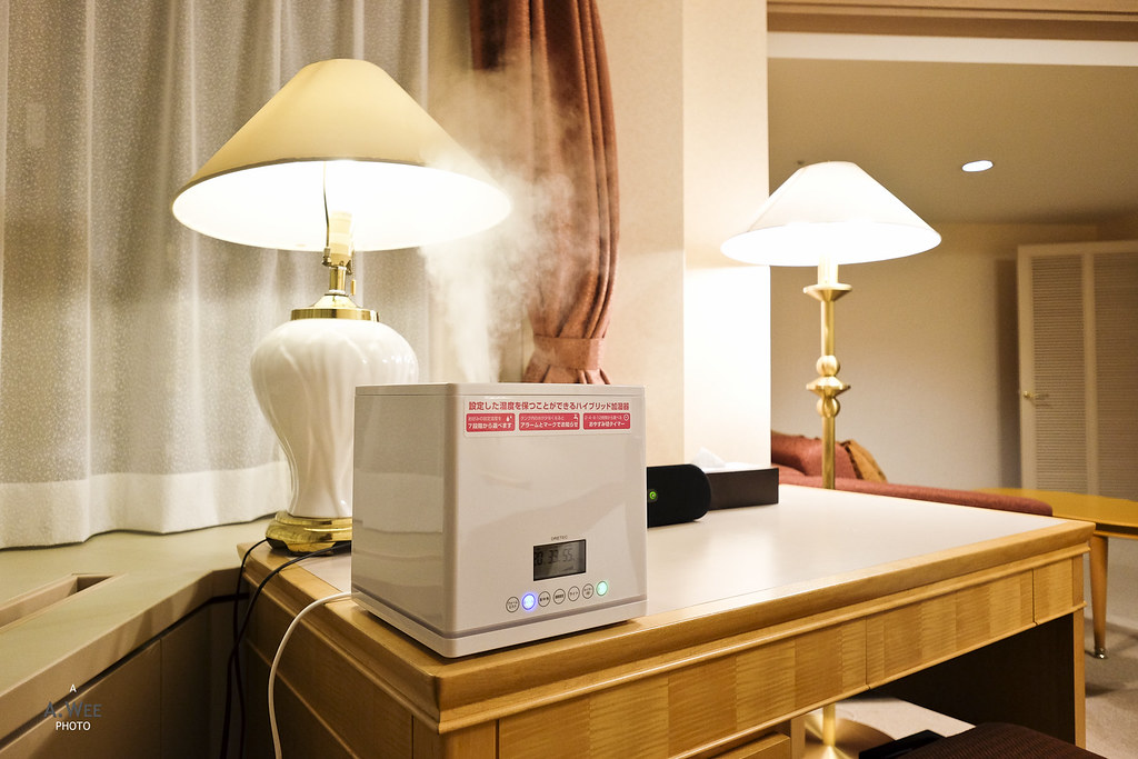 Humidifier in the room