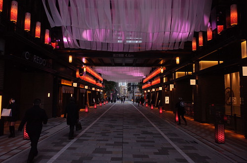 artificial sakura imaging street 日本桜風街道 01