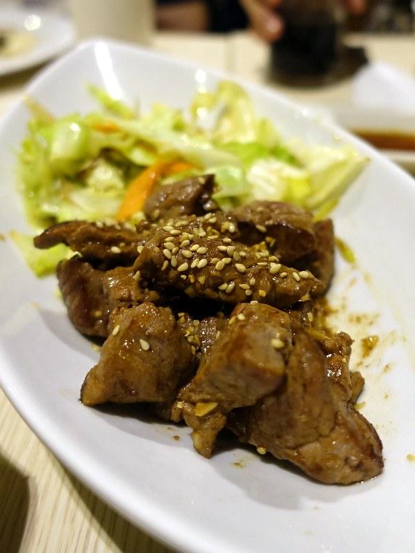 Oedo Japanese Restaurant- Beef Teppanyaki P345