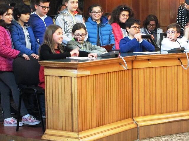 consiglio comunale ragazzi il discorso del vicesindaco