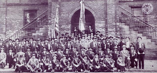 The A.O.H. Benwood Division, circa 1892. St. John Parish.