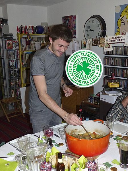 clem sert l'irish stew