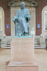 John Marshall (1755-1835), Chief Justice 1801-1835, at Fauquier County District Court, Warrenton, VA