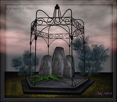 .Arcadia. Hope Always Remains Memorial Gazebo