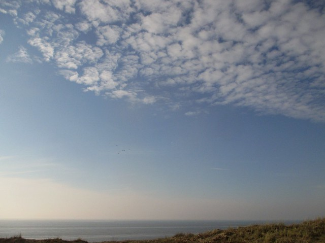 Zandvoort beach from the dyke