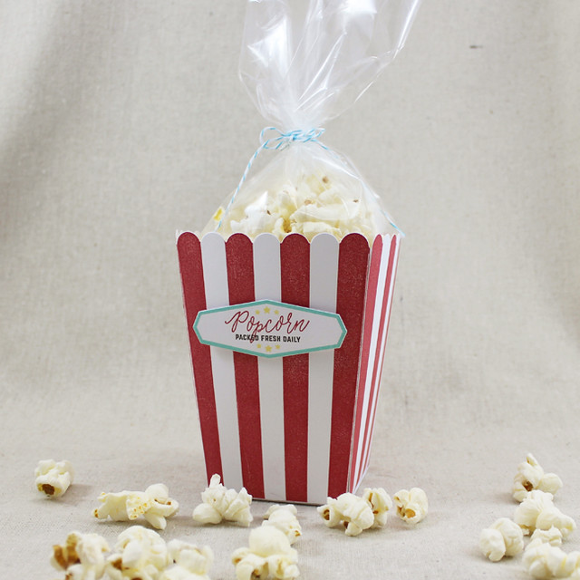 Packed Fresh Popcorn Bucket 1