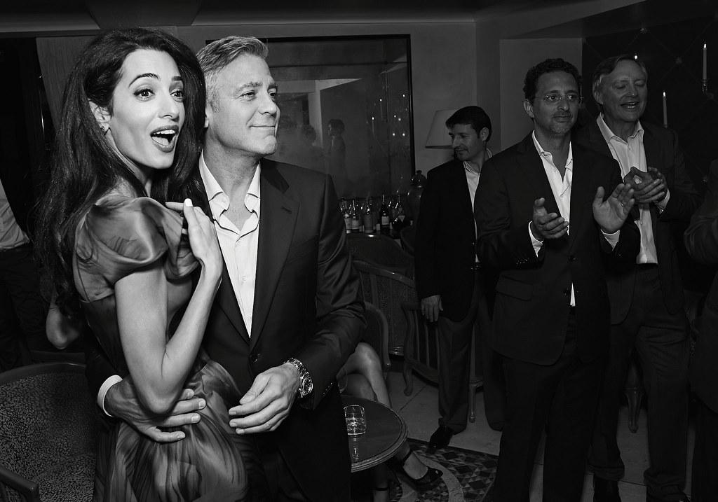 Свадьба Амаль Аламуддин и Джорджа Клуни в Венеции