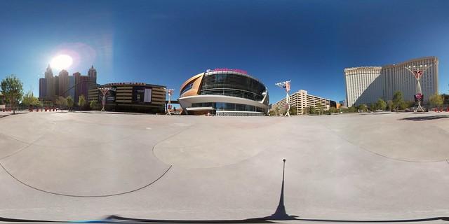 T-Mobile Arena via Samsung #Gear360!