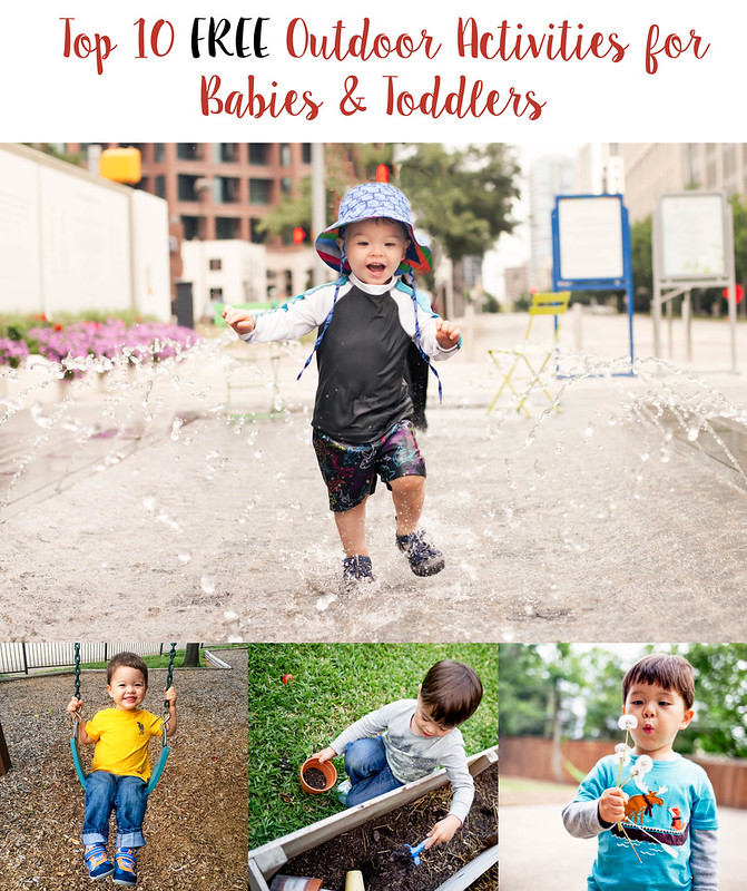 cute & little blog | top 10 free outdoor activities for babies toddlers