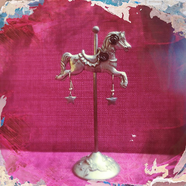 Carousel Horse Earring Stand