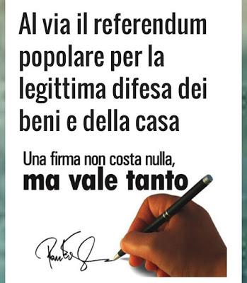referendum legitima difesa