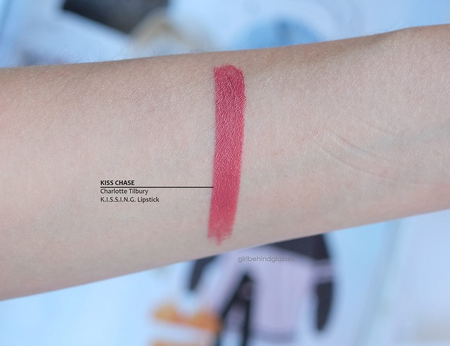 Charlotte Tilbury KISSING Lipstick Kiss Chase swatch