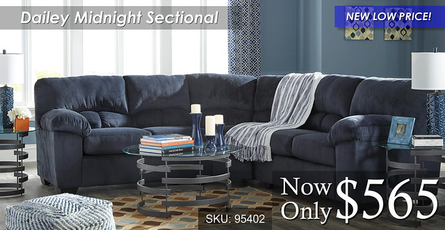 Dailey Midnight Sectional NLP