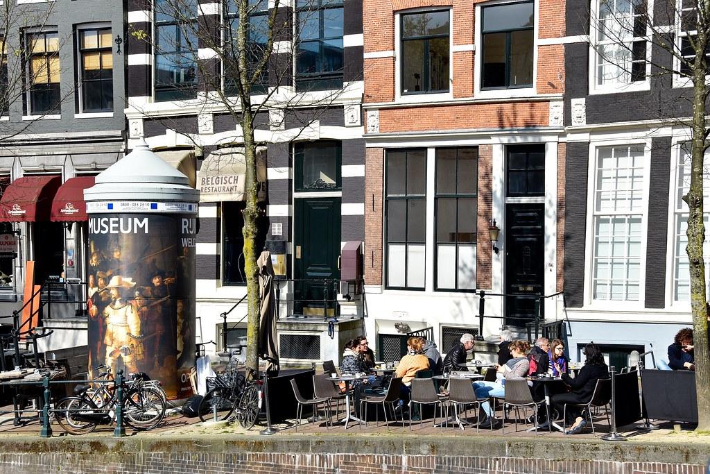 Terras espressamente b ton herengracht amsterdam flickr