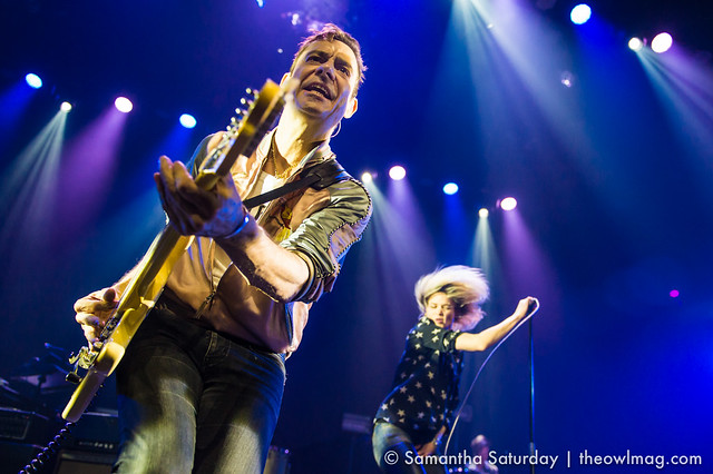 The Kills @ Mayan, Los Angeles - 18 April 2016 05