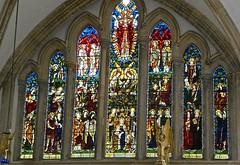 Blakeney, Church of St Nicholas - Stained Glass Windows
