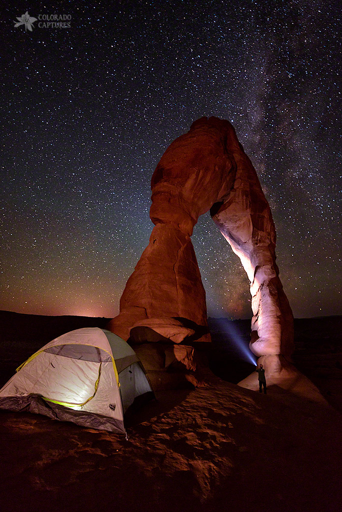 ... Starlight Tent C&ing At Delicate Arch | by Mike Berenson - Colorado Captures & Starlight Tent Camping At Delicate Arch | No we werenu0027t reau2026 | Flickr