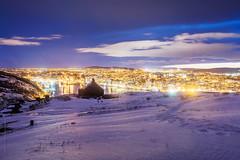 night light at the harbour, St. John's
