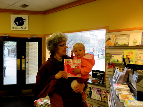 Ninie & Josie Joy at Reader's World Bookstore
