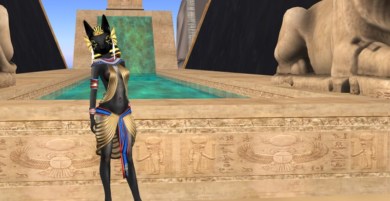 The Anubis of the Golden Delta