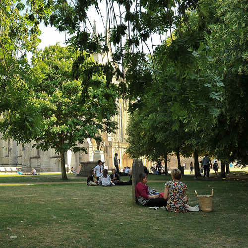 Around Winchester cathedral