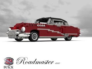 Buick 1950 Roadmaster Riviera Hardtop Coupe
