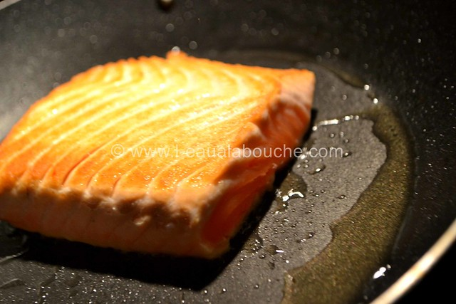 Crevette Géante et Saumon Grillés Crème à la Mangue Pimentée © Ana Luthi Tous droits réservés 37_GF