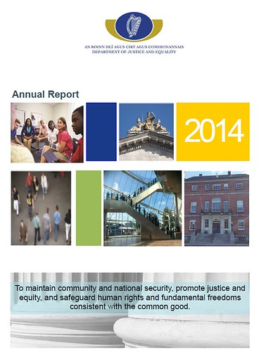 Department of Justice and Equality Annual Report 2014